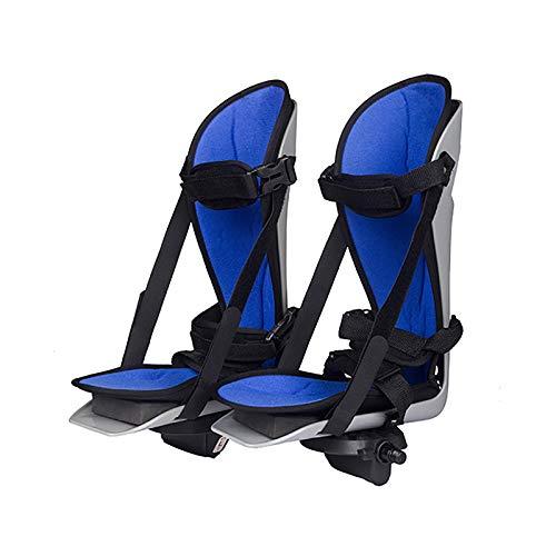 Ladder Soporte de Tobillo, Férulas para pies, Soporte para piernas para Fisioterapia electrónica y rehabilitación, Entrenador motorizado de Pedal de Bicicleta, 1 par ⭐