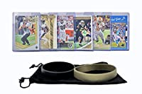 New Orleans Saints Cards: Drew Brees, Alvin Kamara, Michael Thomas, Marshon Lattimore, Latavius Murray ASSORTED Football Trading Card and Wristbands Bundle