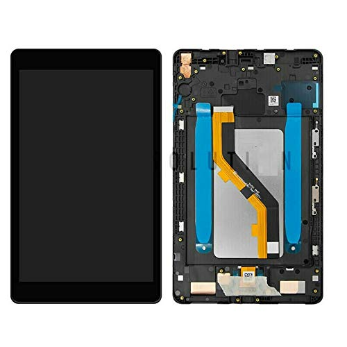 ePartSolution_ Replacement Part for Black Samsung Galaxy Tab A 8.0 2019 SM-T290 LCD Display Touch Screen Digitizer + Frame Assembly USA
