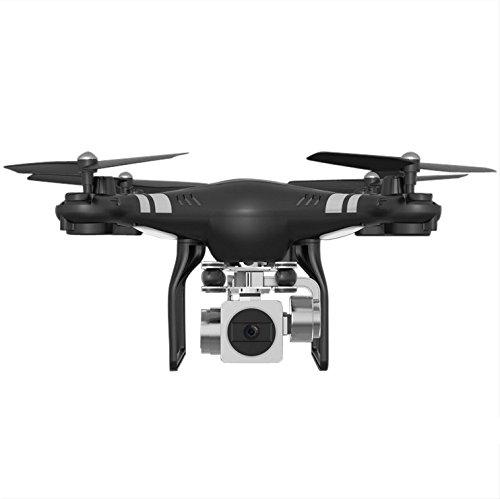 feiXIANG Drone con Telecamera Quadricottero Mini Quadcopter per Bambini Professionale Selfie Parrot Droni Chiave Ritorno Hover GPS HD RC Regolazione elettricità 0.3MP HD Fotocamera FPV Regalo