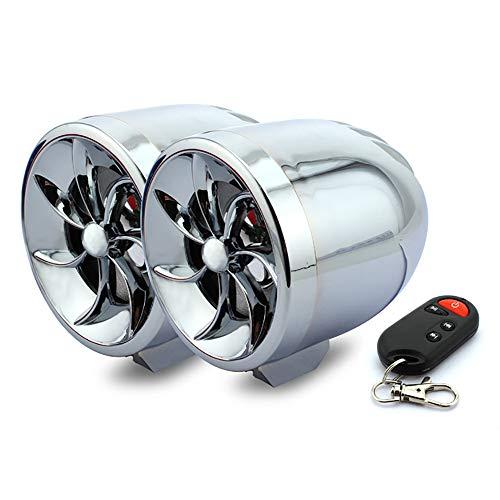 LIDAUTO Motorrad-Lautsprecher TF-Karte ATV MP3 Musik Player Bluetooth Stereo Lautsprecher FM Radio Wasserdicht 12V Universal