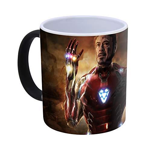 Avengers Endgame - Iron Man Tazza Cambia Colore in Ceramica -300ml