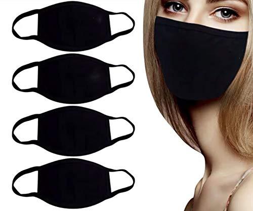 5 mascarillas protección cara, unisex