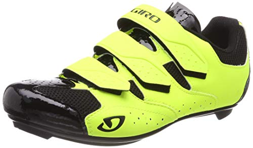 Giro Techne Mens Road Cycling Shoe − 47, Highlight Yellow (2020)