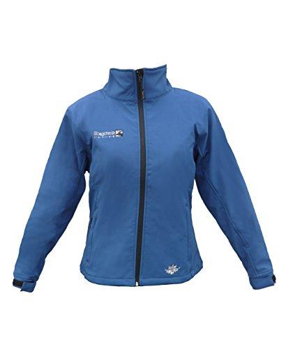 DEPROC-Active Damen Westlook Softshelljacke Jacke, Blau, 50.0