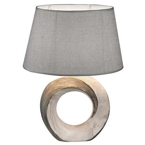 Imposante 1-flg Tisch Leuchte Lampe Gästezimmer Schalter Globo JEREMY 21641T