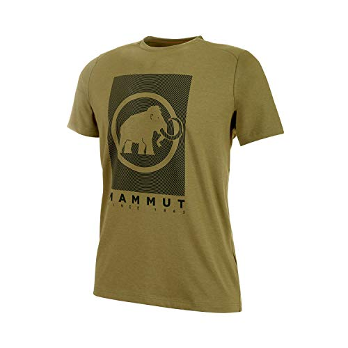 Mammut Herren Trovat T-Shirt, Olive PRT2, S