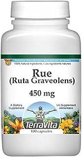 Rue (Ruta Graveolens) - 450 mg (100 Capsules, ZIN: 513674)