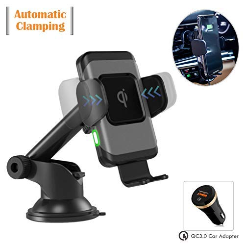 8. Wefunix Wireless Charger Pad & Car Mount