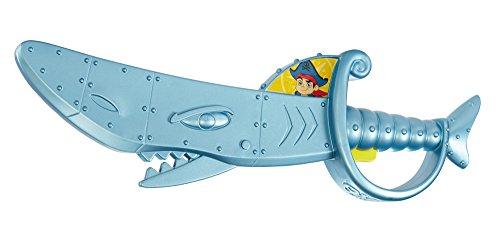 Mattel Fisher-Price Jake y los Piratas - Cgj84 - Disfraces Accesorios - Armas - Espada Tiburón De Jake