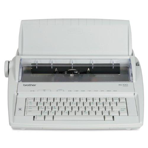 Brother ML-100 Daisy Wheel Electronic Typewriter - Retail Packaging