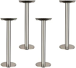 Furniture legs with 4 furniture legs, Suitable for sofas, TV cabinet, cupboards, coffee tables, desks