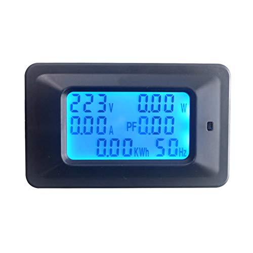 KETOTEK Voltage Tester Din Rail Amperometro Digitale Multimetri Multimetro 220 V 110 V ~ 250 V 20A Misuratore di potenza voltometro Volt Amp LCD Voltm