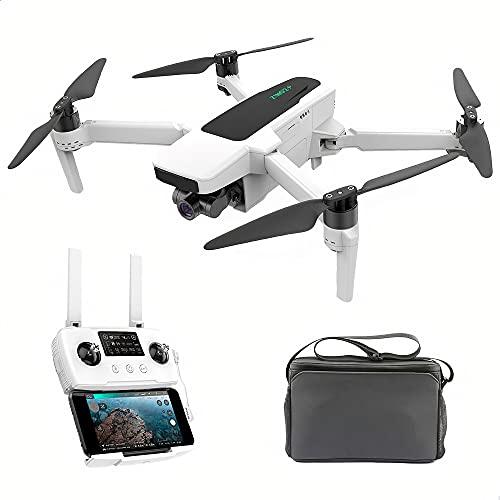 BINDEN Kit Drone Profesional ZINO 2 Plus Dron con Cámara 4K con Chip Ambarella H22 Gimbal 3 Ejes Posicionamiento GPS y GLONASS Transmisión 9 km 5.8Ghz hasta 35 Minutos de Vuelo Compatible con iOS y Android, Blanco