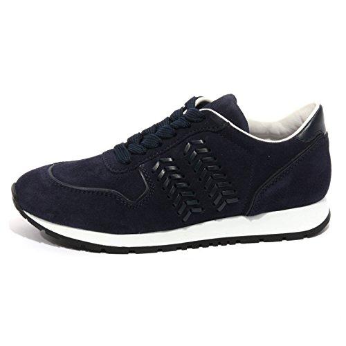 Tod's B1459 Sneaker Donna Scarpa Sportiva Blu Shoes Women [35]