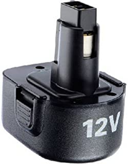 BLACK+DECKER 12 Volt NiCAD Battery, 1-2/5-Amp Hour ( PS130)