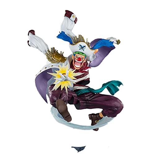 WANGCH Joker Buggy/Top Combat Combat Version/Figura De Una Pieza/Colección De Modelos De Personajes De Anime De PVC Juguetes/Decoraciones Artesanales De Escritorio H7.09in