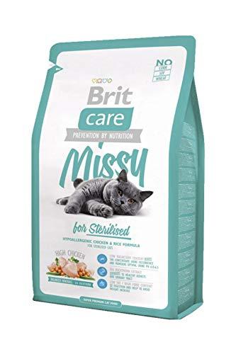Brit Care Cat Missy for Sterilised, 1er Pack (1 x 7 kg)