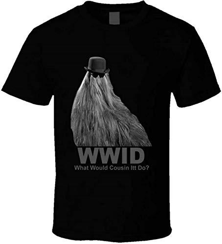 Addams Family What Would Cousin Itt Do Retro Comedy TV Fan t-Shirt