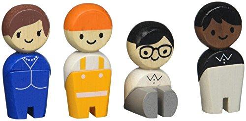 PlanToys Tradesman - Kits de figuras de juguete para niños (3 año(s),...