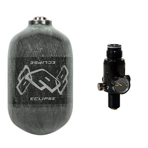 Planet Eclipse HP System 300 Bar schwarz mit Protoyz Regulator und 1,1l Armotech Flasche, Pi Zertifiziert