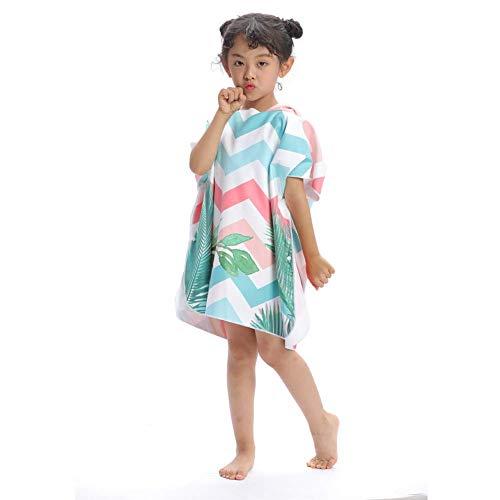Babybadhanddoeken met capuchon, strand, sneldrogende omhang, badjassen, volwassenen modellen, wisselende capuchonbadjassen, badhanddoeken badjas voor kinderen, strandmuts H