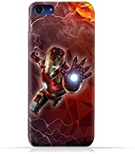 Oppo A1 TPU Silicone Protective Case with Iron Man Design