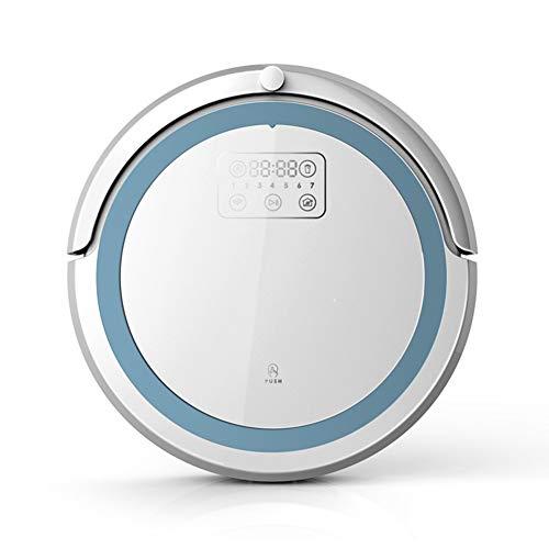 ZNMJW inteligente barrido robot de succión barrido uno planificación inteligente una variedad de modo de limpieza hogar inteligente pequeños electrodomésticos-Blanco