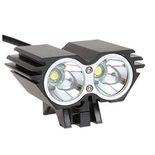 Fahrrad-licht-set, Super Bright Wiederaufladbare Fahrradbeleuchtung Mit 3 Leds Fahrradlampe Und Sicheres Rücklicht, Anti-glare Strahl, Fahrradbeleuchtung Für Straßen-und Bergreiten, Einfach Zu