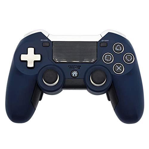 Ashey Gamepad PS4, Joystick de Control de Juego inalámbrico PS4 2.4G de Doble vibración, para Consola de Videojuegos Play Station 4 y PS3