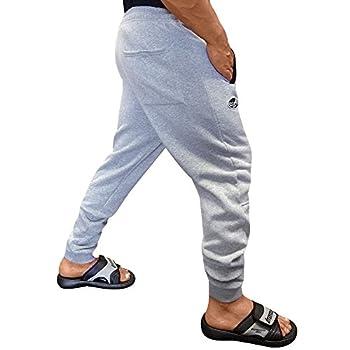 Otomix Men s Cotton/Poly Fleece Jogger Workout Pants  Medium Heather Grey