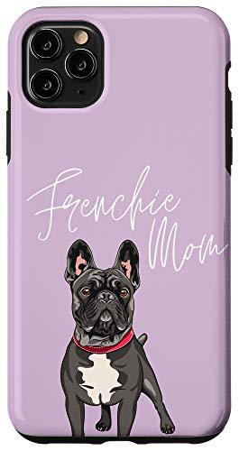 iPhone 11 Pro Max Frenchie Mom French Bulldog Purple Case