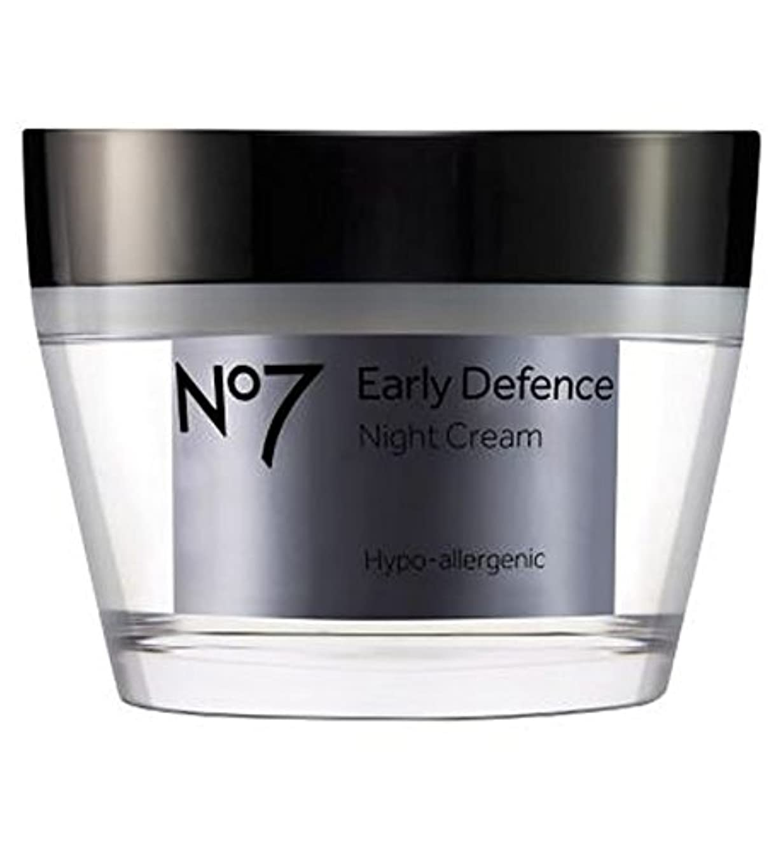 ヘルシーに頼る支援するNo7早期防衛ナイトクリーム (No7) (x2) - No7 Early Defence Night Cream (Pack of 2) [並行輸入品]