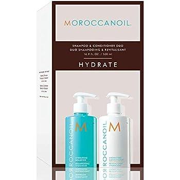 Champú y acondicionador hidratantes Moroccanoil, tamaño gigante de 500 ml: Amazon.es: Salud y cuidado personal