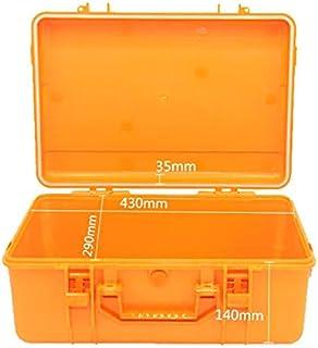 耐衝撃性ABSプラスチックシールツールボックス安全装置ツールボックススーツケース耐衝撃性ツールケース450x305x186mm