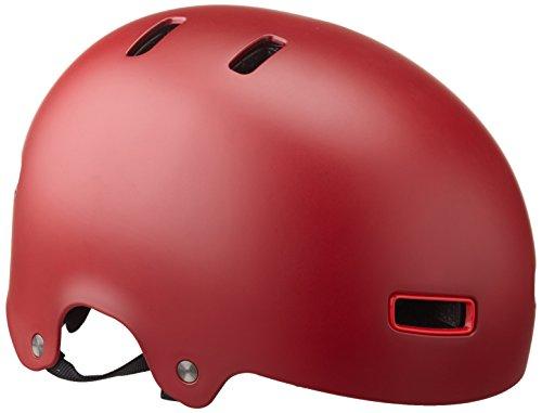 BELL Reflex - Casco para Hombre para Bicicleta de Paseo, Color Rojo