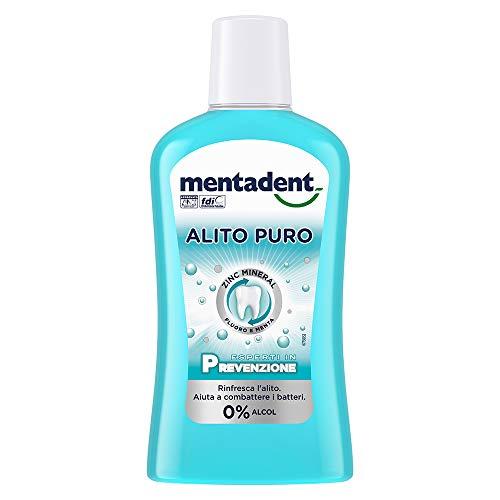 Mentadent Collutorio Alito Puro - 500 Ml