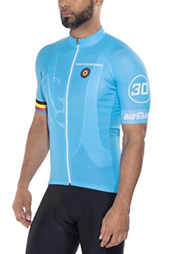 Bioracer Van Vlaanderen Pro Race Trikot Herren Blue Größe S 2020 Radtrikot kurzärmlig