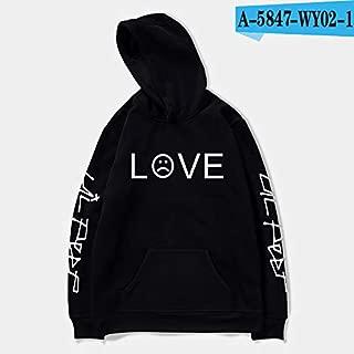 5 color New Lil Peep street hooded circular collar hooded winter hoodies unisex Printing Polyester/Cotton Slim Fit Men/women top coat Hoodie