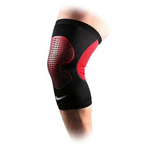 Genouillères Sportives ménisques genouillères extérieures - 3 Tailles Disponibles (Couleur : Red, Taille : XL)