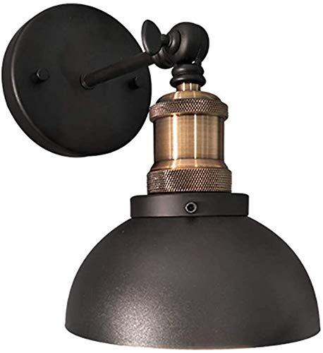 Lámpara de pared Retro Aplique, Lámpara de pared Vintage Loft estilo industrial lámpara de pared de metal creativo retro con lámparas ajustable Cabeza lámpara de cabecera E27 zócalo de la cocina de la