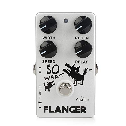 Caline CP-66 Classic Flanger Guitar Effects Pedal