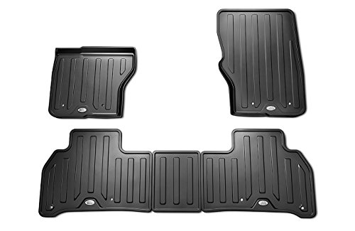 Land Rover Genuine Discovery 5 Rubber Mat Set