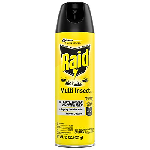Raid Multi Insect Killer 15 Ounce (Pack of 3)