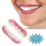 Dentaduras Postizas Perfecta Dientes Cosméticos Simulación Realistas Falsos Carillas Dentales 2 Pcs Reutilizable