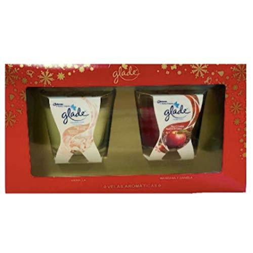 Glade by Brise Amb.kaars 70 gramosappel + vanille (pak) H-15, neutraal, middel