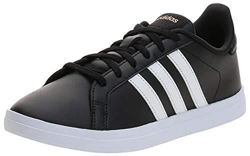 adidas COURTPOINT, Zapatillas de Tenis Mujer, NEGBÁS/FTWBLA/DORMAT, 37 1/3 EU
