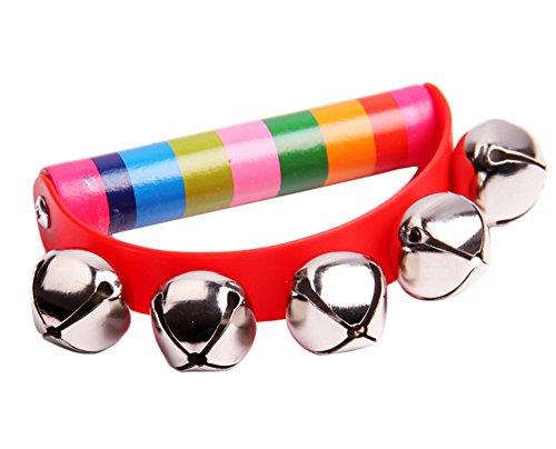 JUNGEN® Traqueteos de Madera Niños Early Musical Educativo de Juguete para bebé de más de 6 Meses, Color...