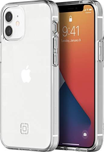 Incipio NGP Pure, custodia compatibile con iPhone 12 Mini (5,4') [1,5 m, resistente alle cadute, compatibile con Qi, antiurto, antiurto, flessibile, trasparente