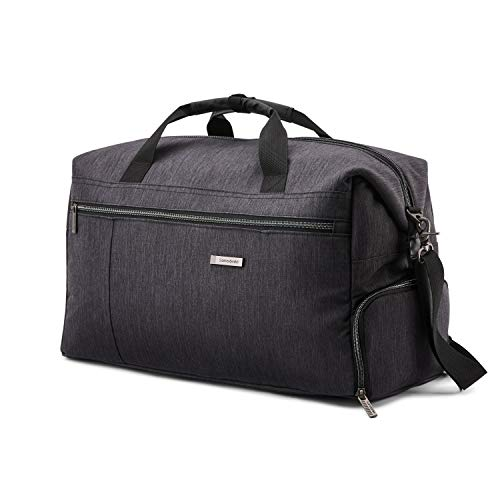 Samsonite Modern Utility Weekend Duffel Bag, Charcoal Heather, One Size